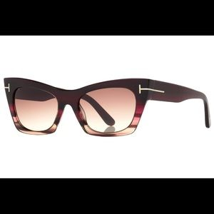 Tom Ford Kasia Sunglasses. New with box and case!